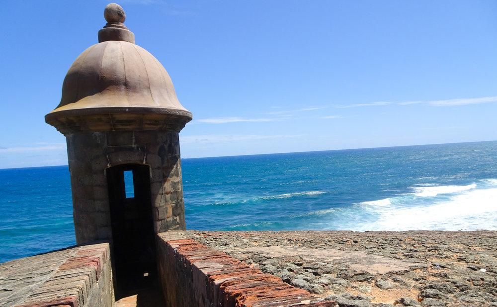 Guard Tower from Castillo San Cristobol - Sann Juan Photo: Calvin Wood