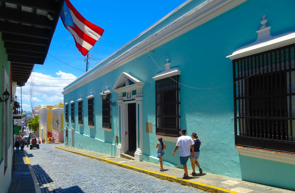 The Streets of Old San Juan   Photo: Calvin Wood