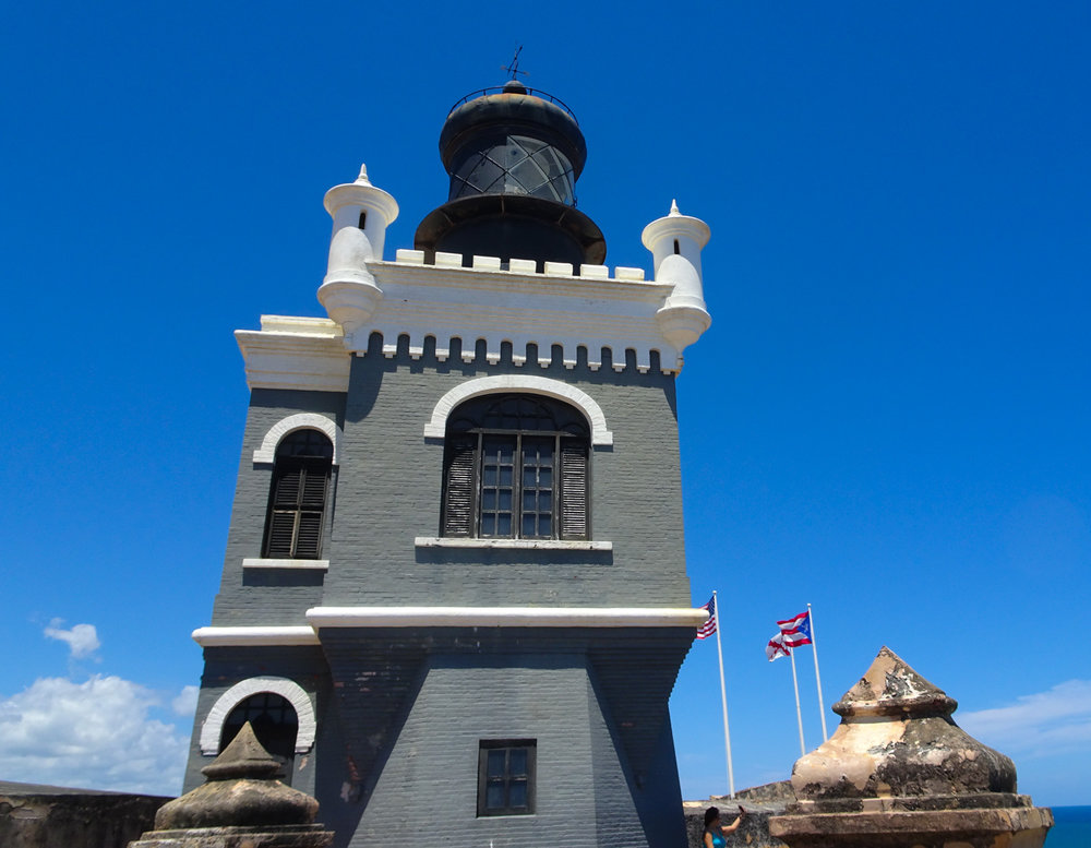 Lighthouse - Castillo San Felipe del Morro - San Juan Photo: Calvin Wood