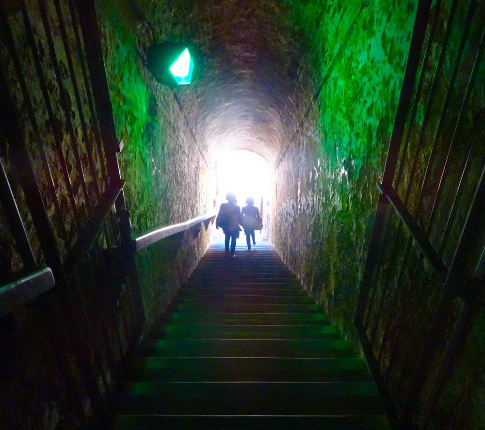 Inner Staircases - Castillo San Felipe Del Morro - San Juan Photo: Calvin Wood