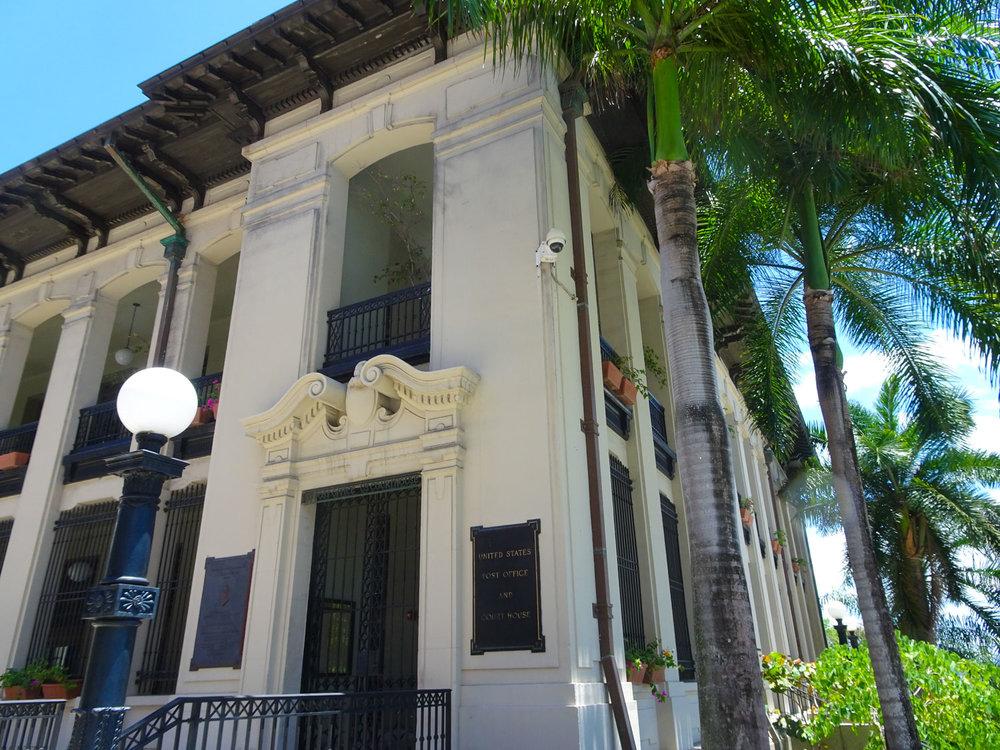 US Post Office - Old San Juan Photo: Calvin Wood