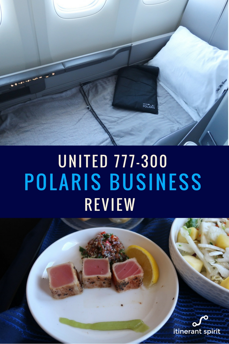 United Airlines Polaris Business Class Review - Boeing 777-300 - Itinerant Spirit Blog
