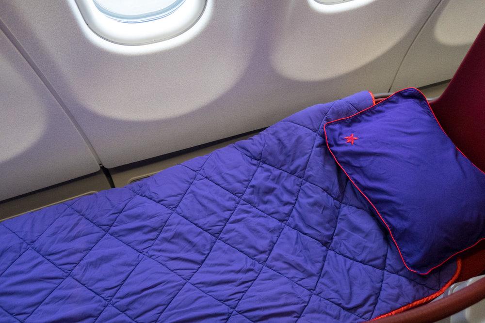 Lay Flat Seats - Hong Kong Airlines A330 Business Class Photo: Calvin Wood