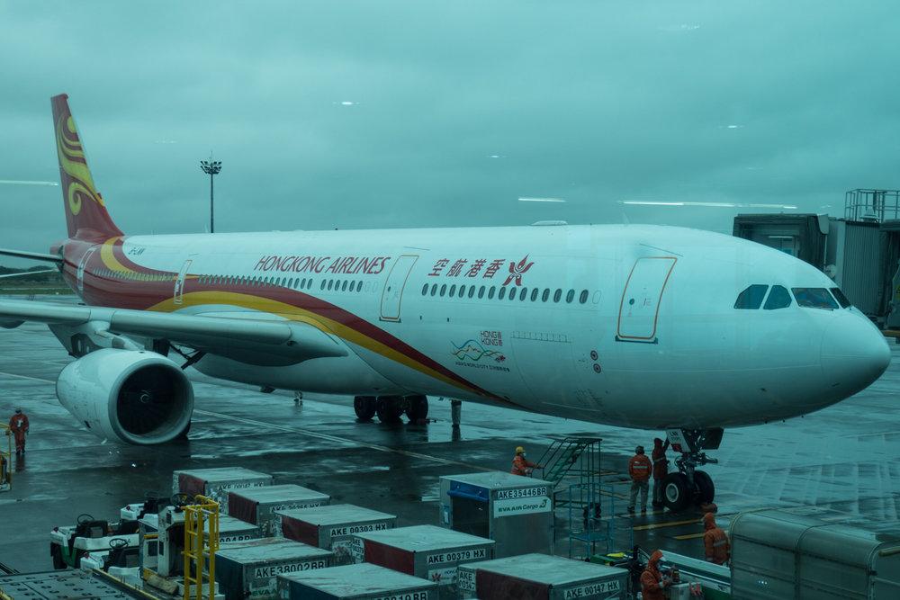 A330 - Hong Kong Airlines - Taipei  Photo: Calvin Wood