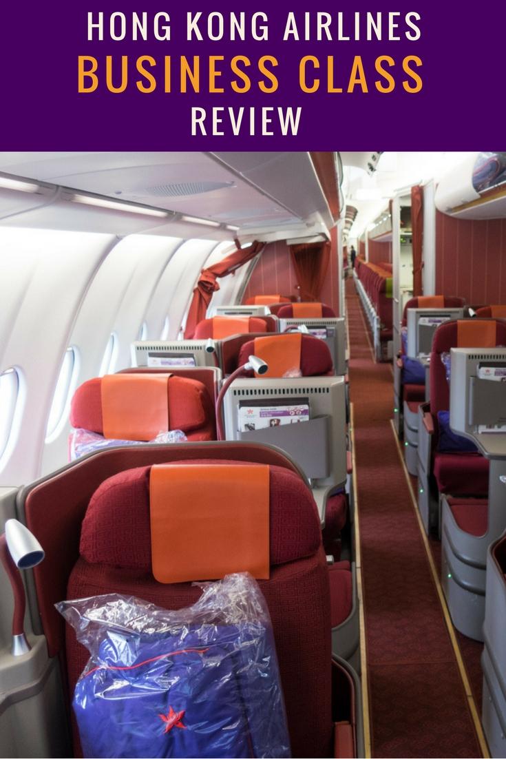 Hong Kong Airlines Business Class - Review - A330 - Itinerant Spirit Blog