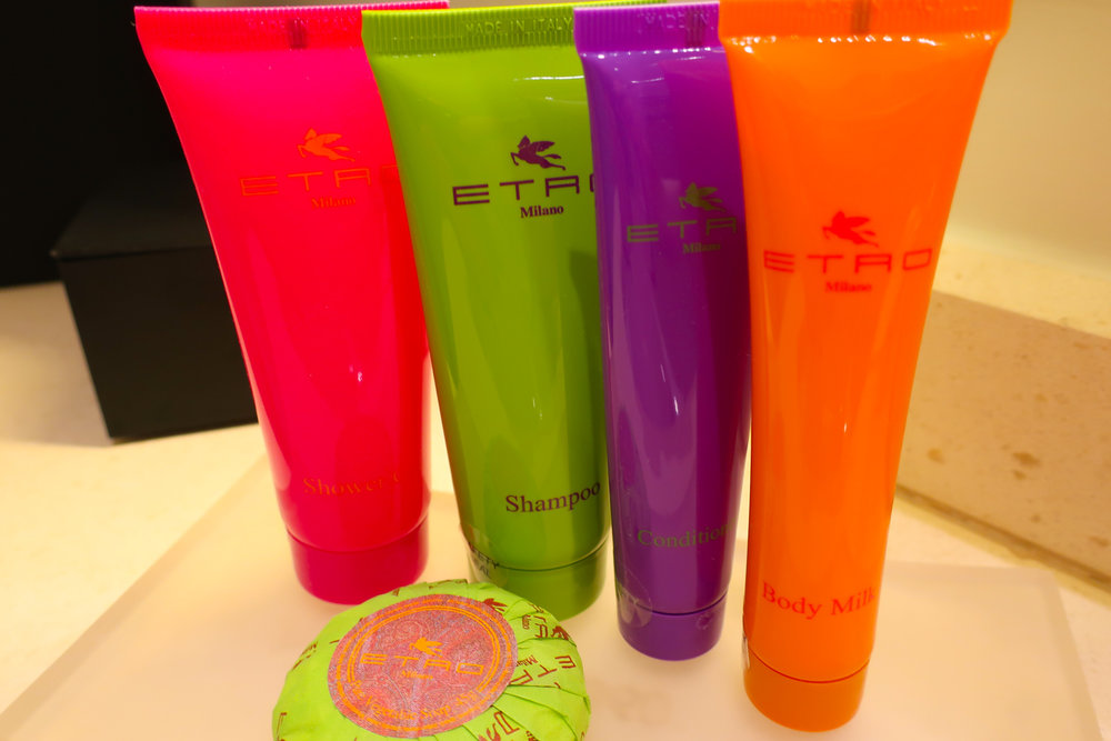 Etro Bath Products - Inigo Hotel Rome    Photo: Calvin Wood