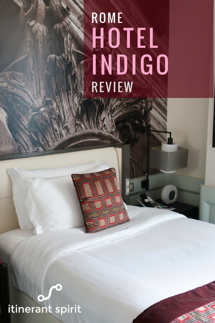 Hotel Indigo Rome - Review - Itinerant Spirit Blog