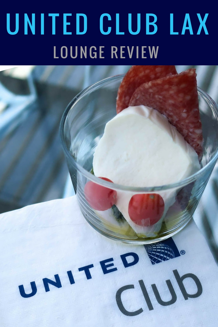 United Club LAX - Lounge Review - Itinerant Spirit Blog