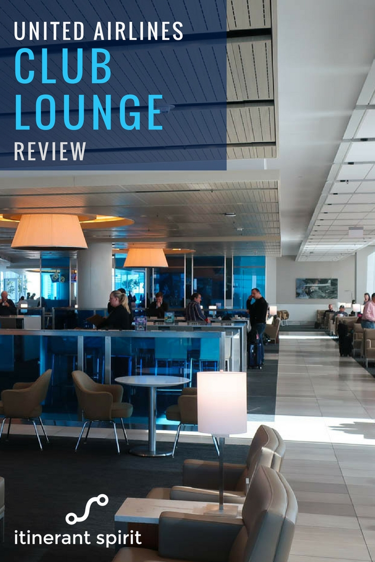 United Club LAX Lounge Review - Itinerant Spirit Blog
