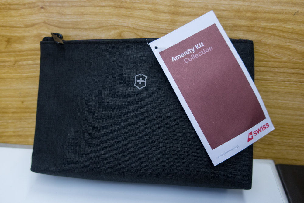 Victorinox Toiletry Bag - Swiss Business Class    Photo: Calvin Wood