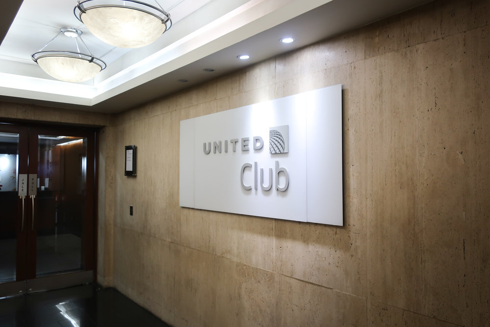 Entrance - United Club Mexico City     Photo: Calvin Wood