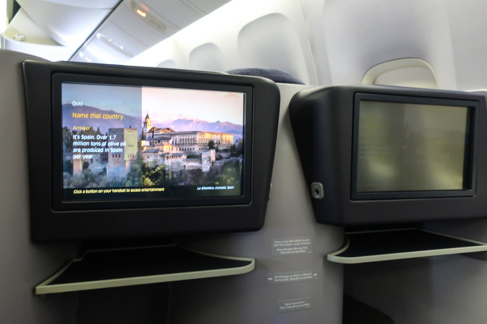 Video on Demand - UA Domestic First Class to Hawaii   Photo: Calvin Wood