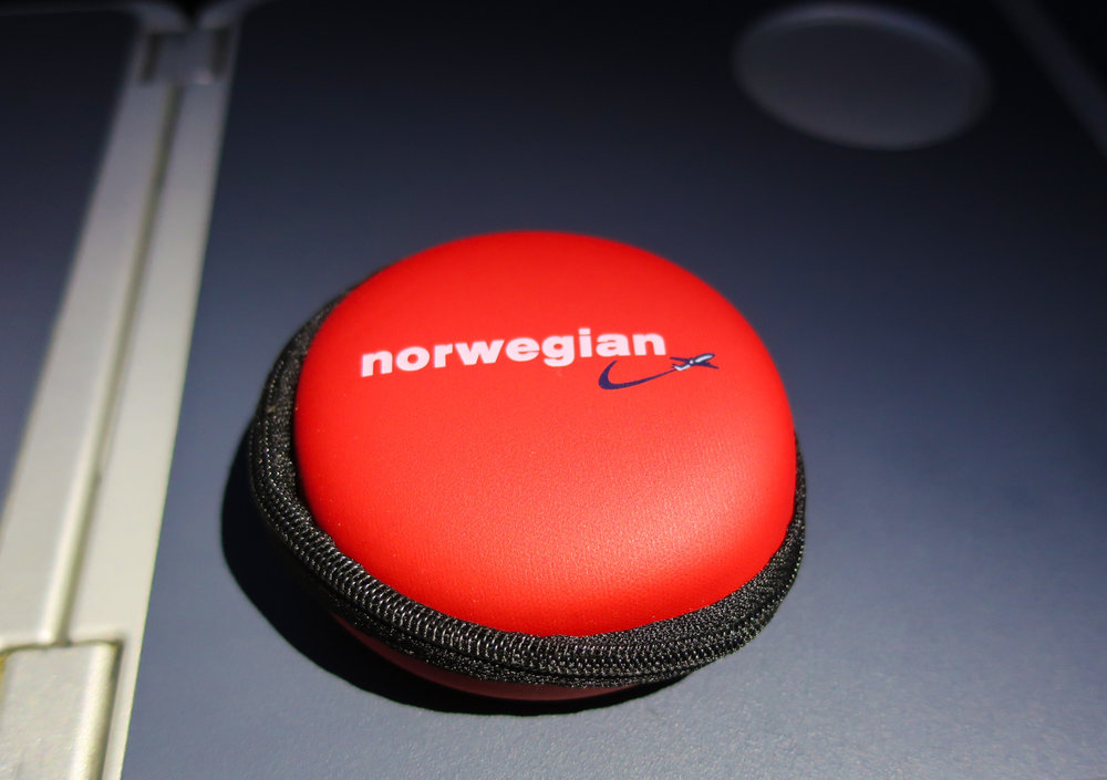 Earphone Case -Norwegian Airlines    Photo: Calvin Wood
