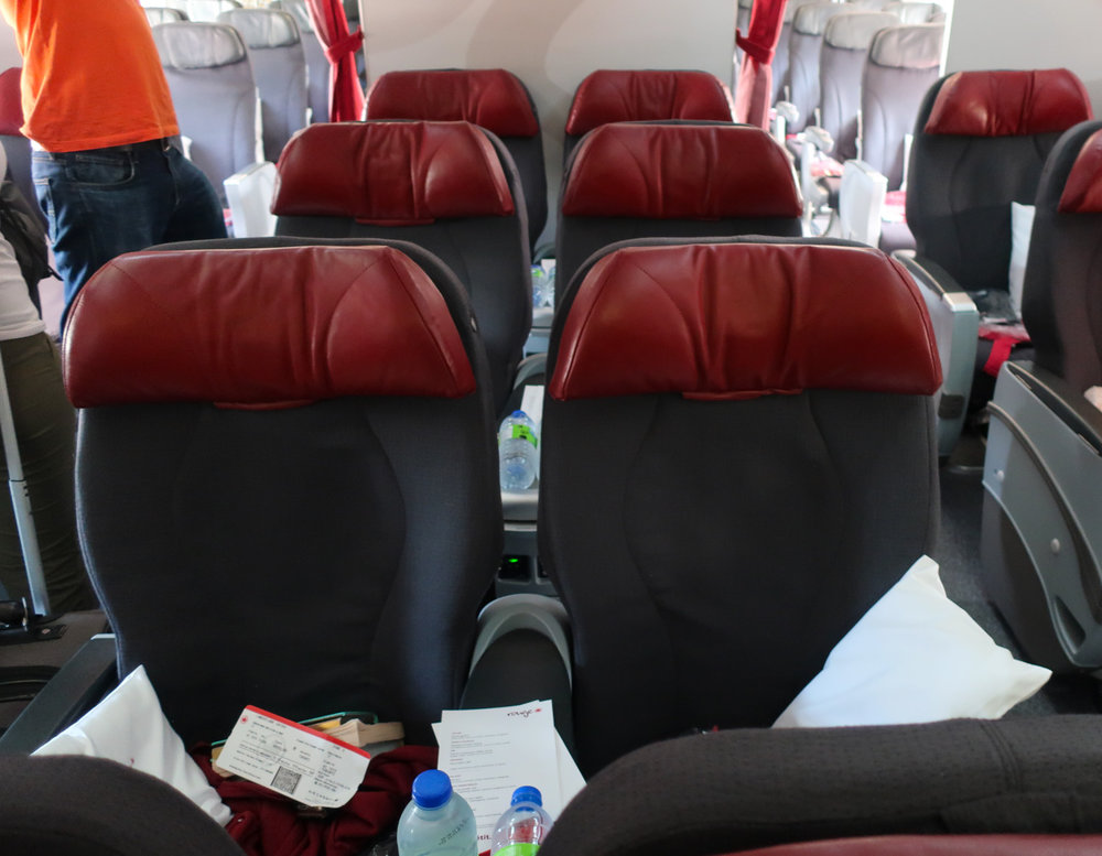 Premium Rouge Cabin - Air Canada Rouge   Photo: Calvin Wood