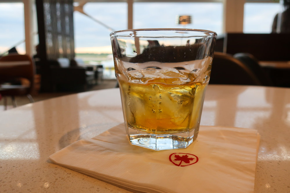 Enjoying a Scotch - Maple Leaf Lounge - Montreal    Photo: Calvin Wood