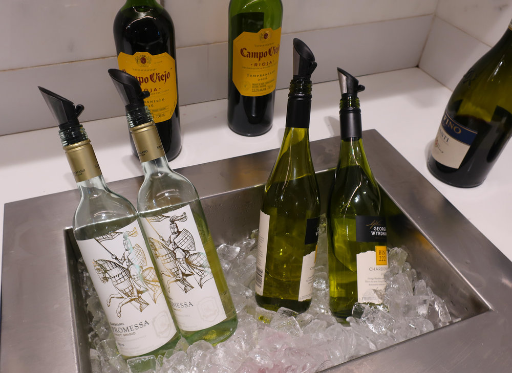 Chilled Wines  - Maple Leaf Lounge Montreal    Photo: Calvin Wood