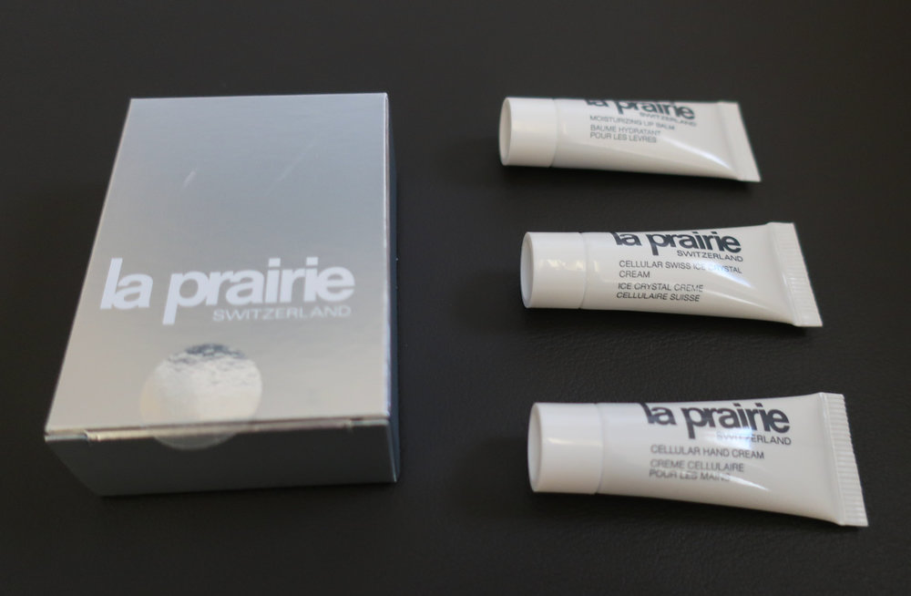 La Prairie Toiletries - Lufthansa First Class  Kit    Photo: Calvin Wood