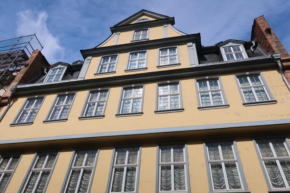 Goethe House - Frankfurt  Photo: Calvin Wood