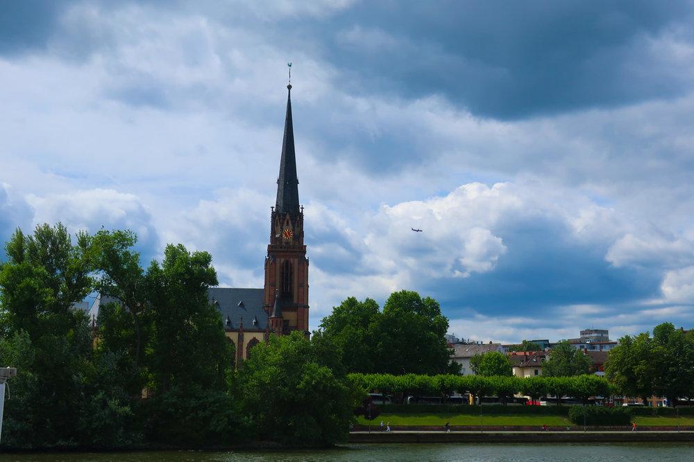 River Views on the Main Frankfurt  Photo: Calvin Wood