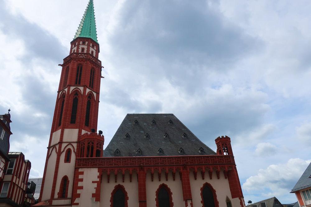 Old St. Nicholas Church  -  Romerberg  - Frankfurt  Photo: Calvin Wood