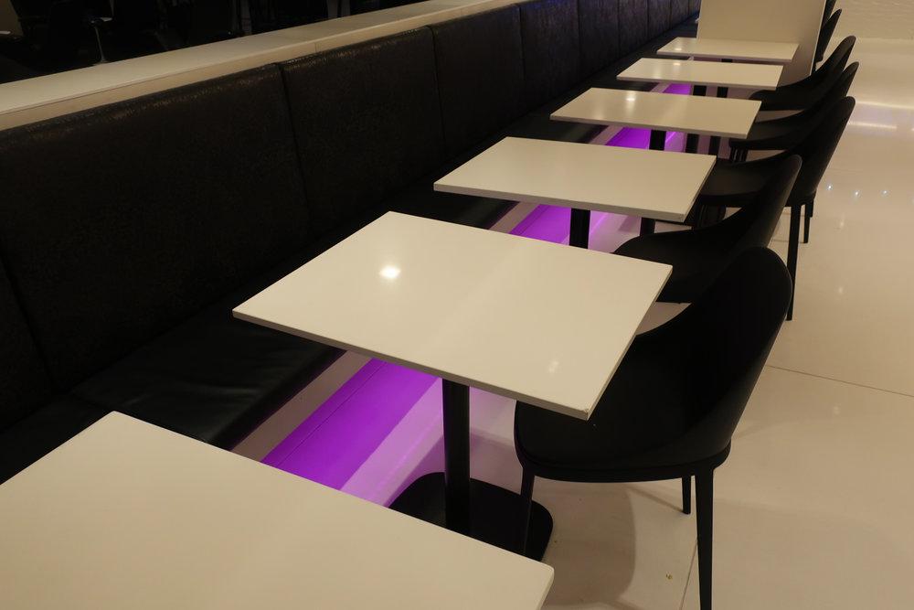 Dining Area - Air New Zealand Lounge Sydney  Photo: Calvin Wood