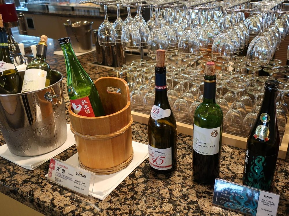 Wine, Sake &Shōchū - United Club Narita  Photo: Calvin Wood