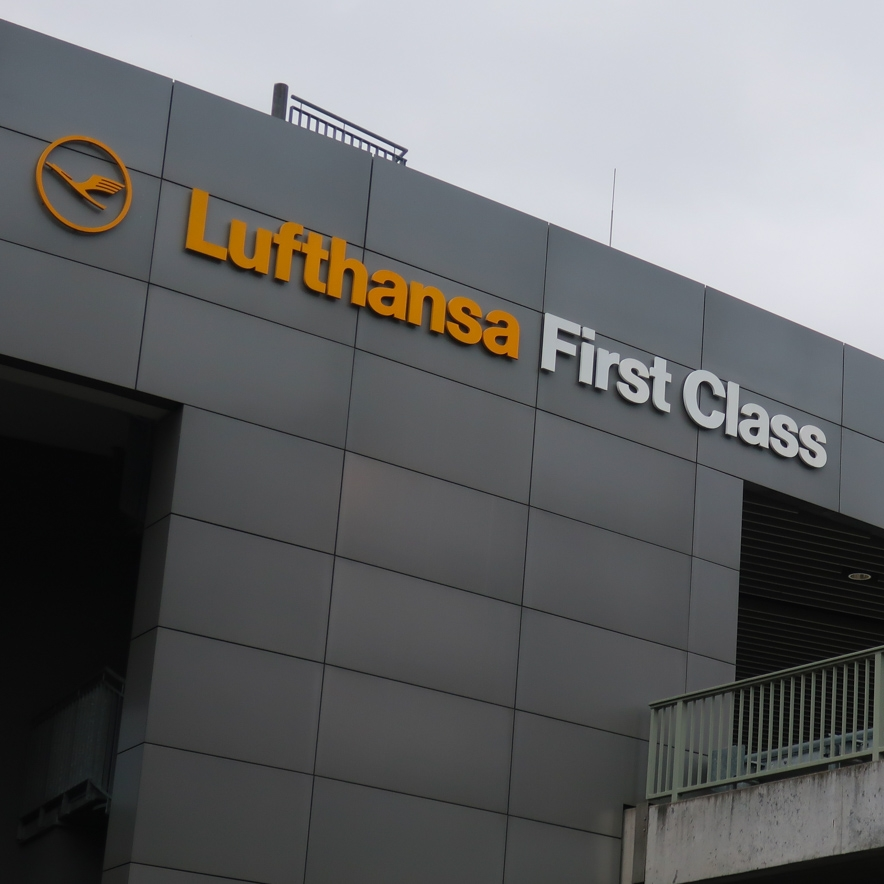 Lufthansa's  First Class Terminal  - Frankfurt    Photo: Calvin WOod