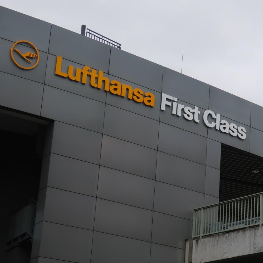 Lufthansa's  First Class Terminal  - Frankfurt  Photo: Calvin WOod