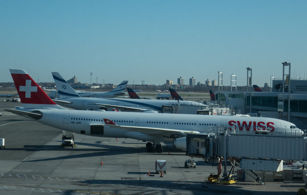 View From Swiss Business Lounge JFK  Photo: Calvin Wood