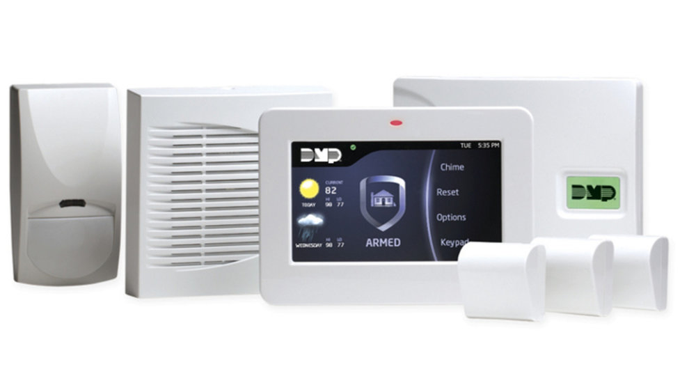 Wireless DMP XTL Security Alarm System; Image Courtesy of  Digital Monitoring Products (DMP)