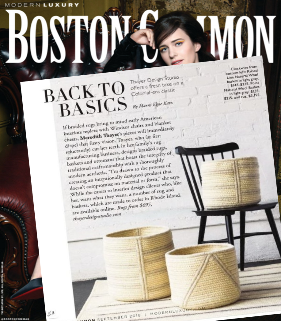 Boston Common | Modern Luxury | Sept 2018