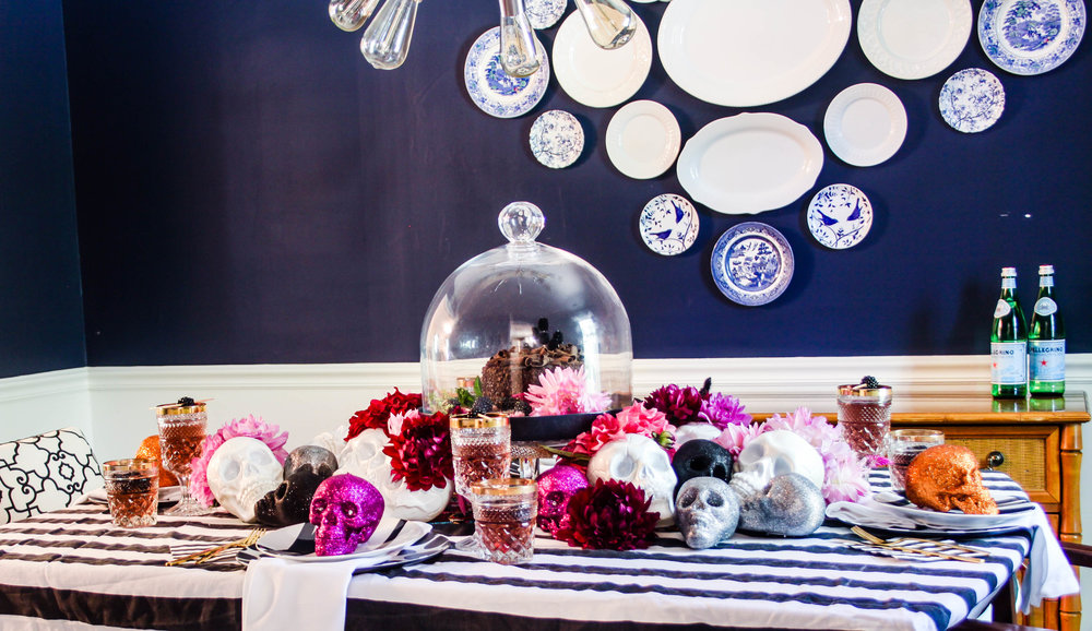 Changing Chaney Halloween Tablescape