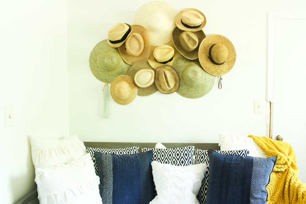 Changing Chaney Hat wall