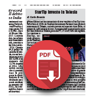2 marzo 2018  StarTip investe in Telesia