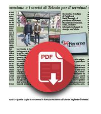 10 Aprile 2019  Poggibonsi, innovazione e i servizi di Telesia per il terminal dei bus di Tiemme
