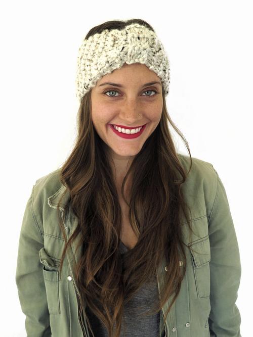 Lana Turban Headband Pattern Two Of Wands