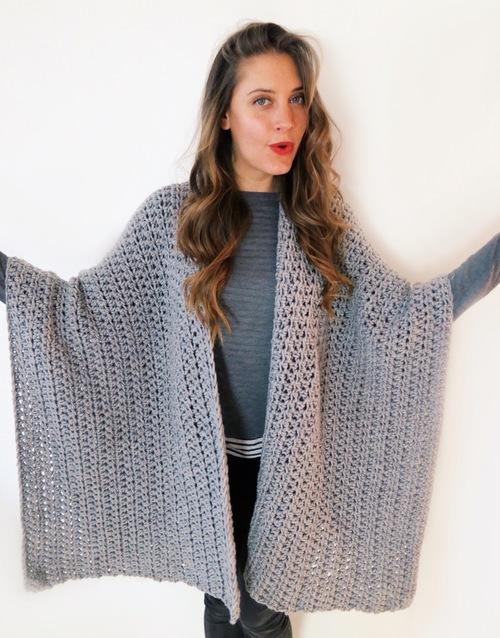 Blanket Ruana Pattern Two Of Wands