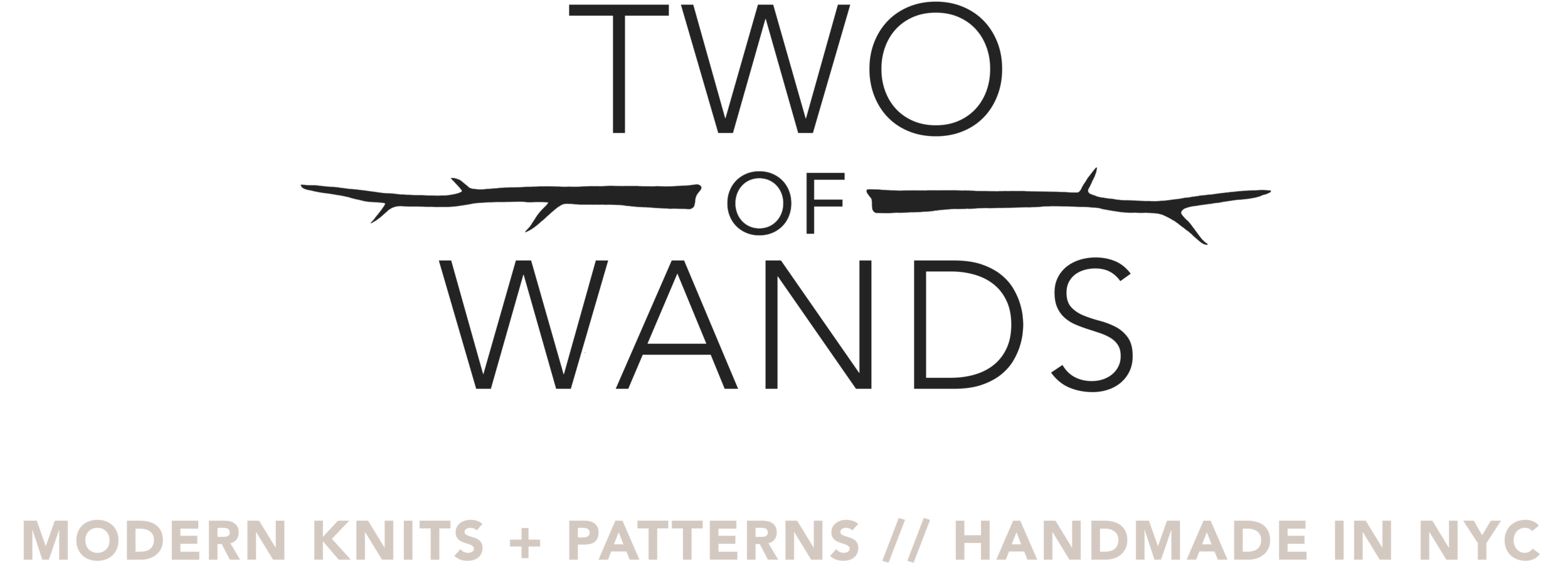Tea House Wrap Pattern — Two of Wands