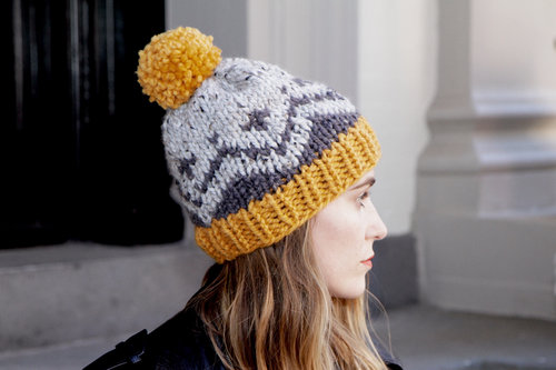 Mccallister Fair Isle Toque Pattern Two Of Wands