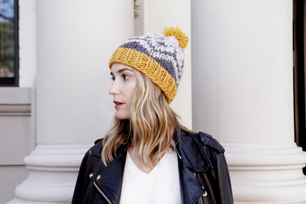 McCallister Fair Isle Toque Pattern — Two of Wands