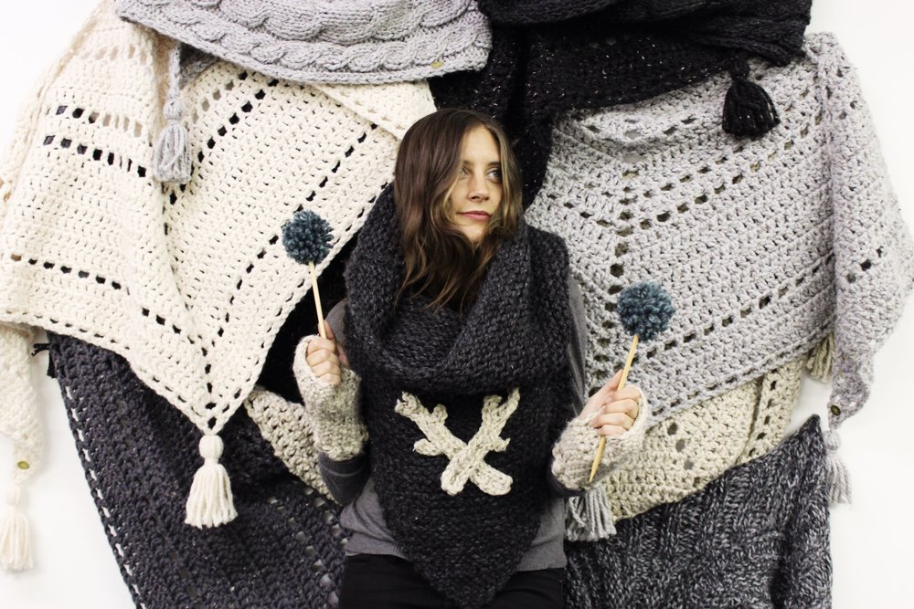 Yarn Hero Alexandra Tavel of Two of Wands
