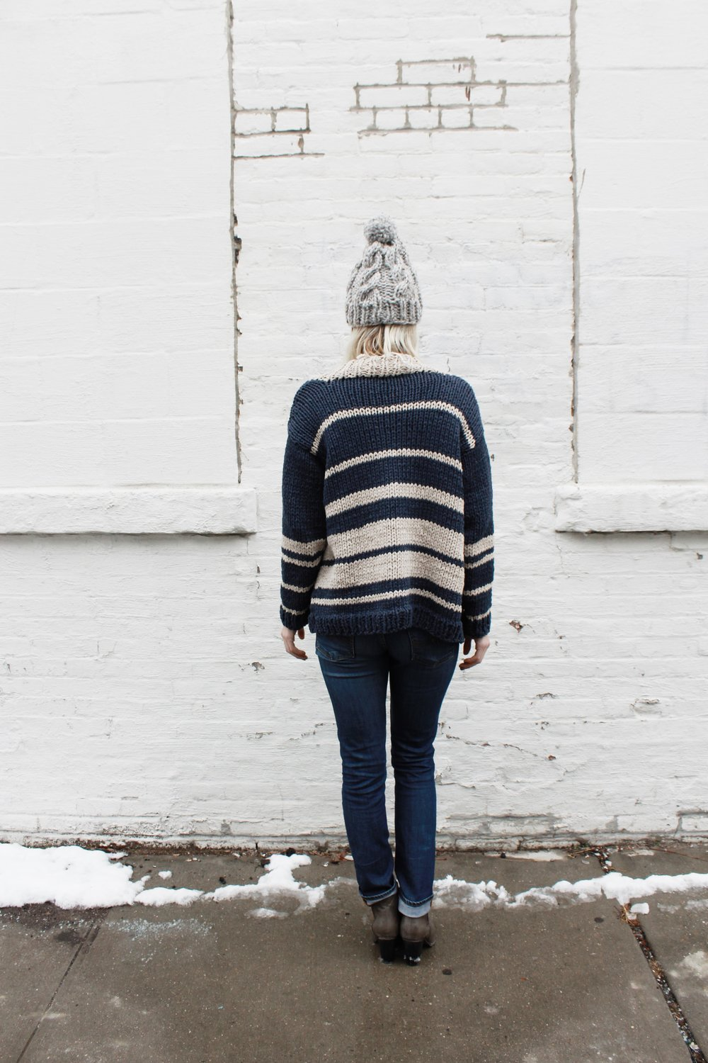Oxford Boyfriend Cardigan by Two of Wands