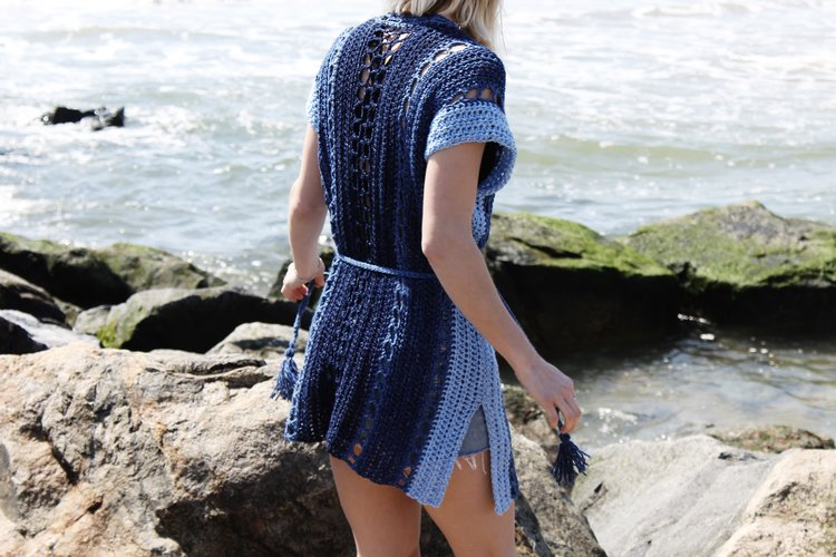 Arverne Beach Robe Pattern by Two of Wands