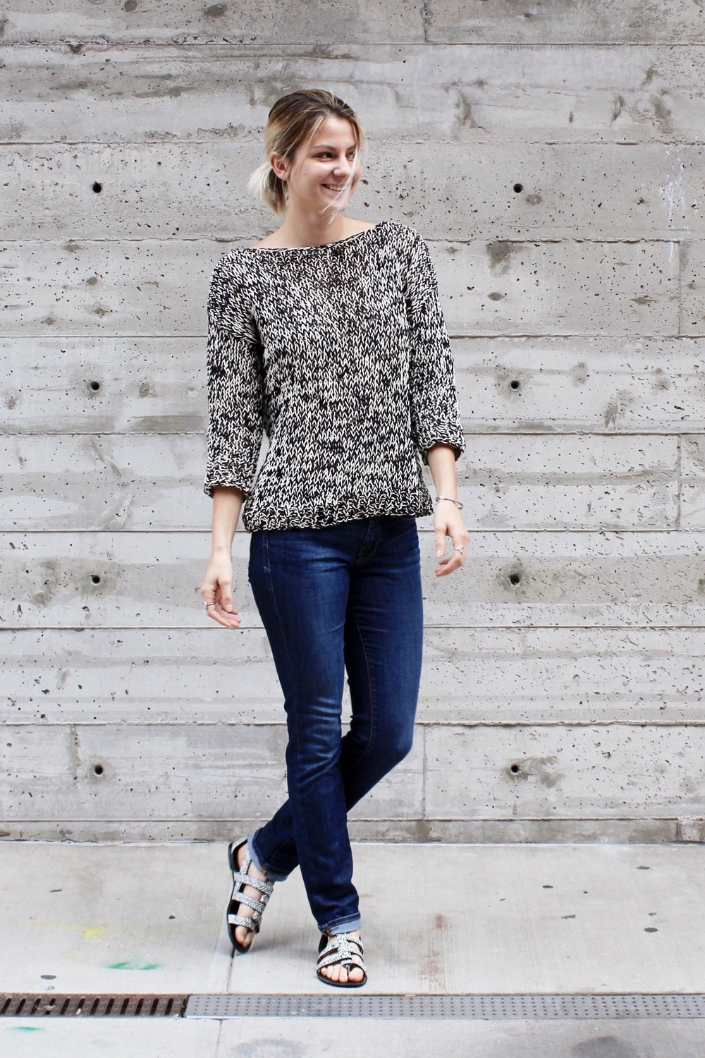 Dockside Sweater Pattern by Two of Wands