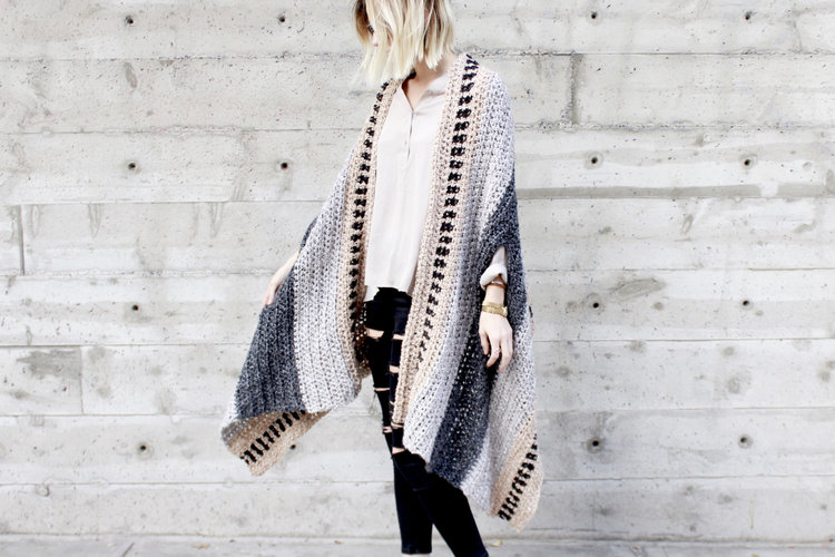 Saddlebrook Cape Scarf — Two of Wands