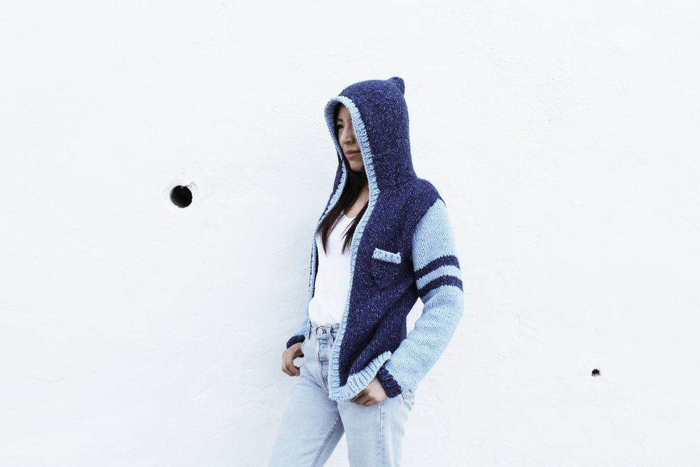 Varsity Hoodie Pattern by Two of Wands