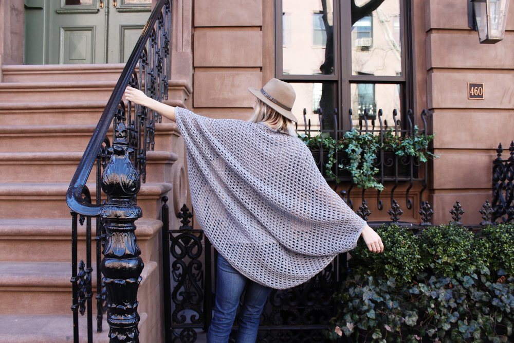 Chelsea Cape Pattern by Two of Wands