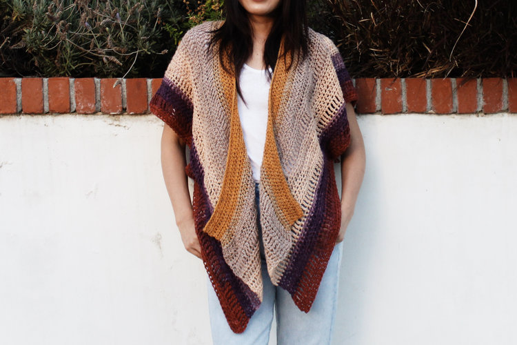 875cbeb59 Swallowtail Cardigan Pattern by Two of Wands