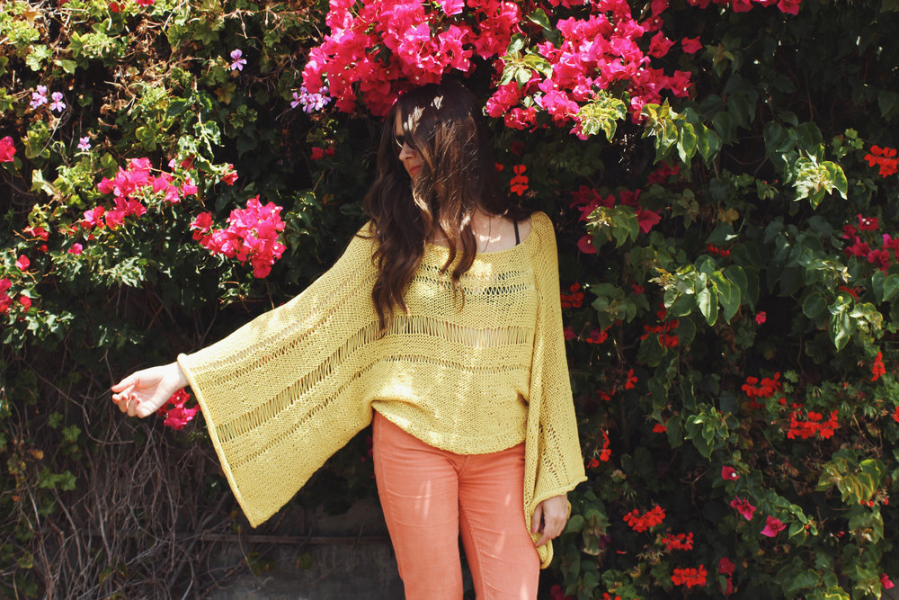 Lemon Drop Sweater Pattern by Two of Wands