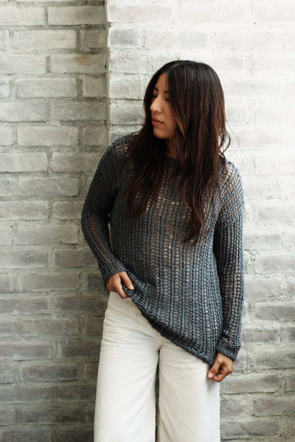 Bay Street Pullover Pattern by Two of Wands